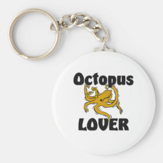 Octopus Lover Key Chain