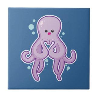 Octopus Loves You Tile
