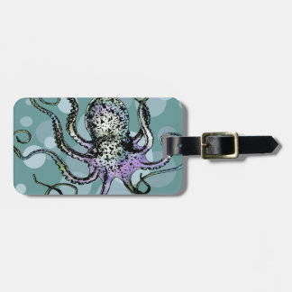 Octopus Luggage Tag