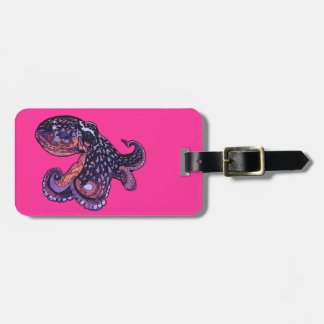 Octopus Travel Bag Tags