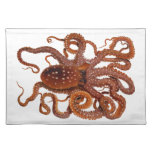 Octopus Macropus Atlantic White Spotted Octopus Placemat