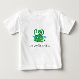 octopus maine tee shirt