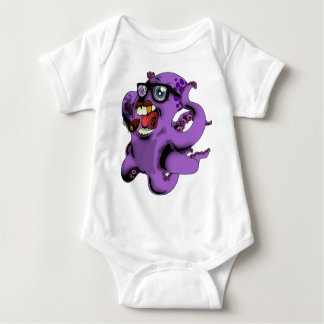 octopus_mob_accountant baby bodysuit