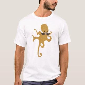 Octopus Mustache T-Shirt
