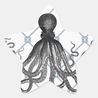 Octopus  - Nautical Star Sticker
