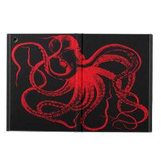 Octopus Nautical Steampunk Vintage Kraken Monster iPad Air Cases at Zazzle