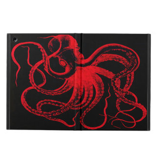 Octopus Nautical Steampunk Vintage Kraken Monster iPad Air Cases