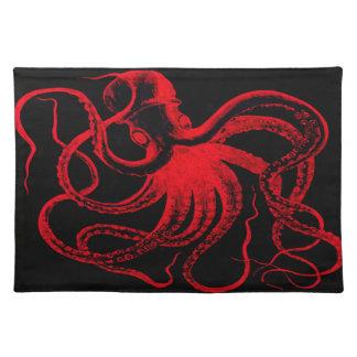 Octopus Nautical Steampunk Vintage Kraken Monster Placemat