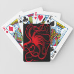 Octopus Nautical Steampunk Vintage Kraken Monster Bicycle Card Decks