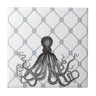 Octopus  - Nautical Tile