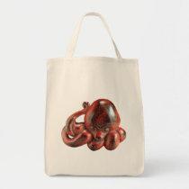 Octopus Netsuke Grocery Tote