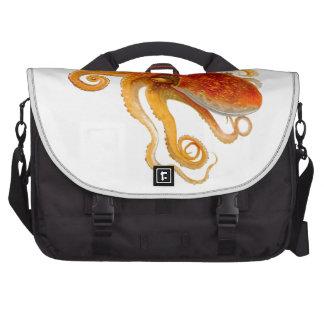 Octopus No.8 Cephalopod Sea Creature Art Computer Bag