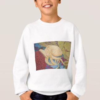 Octopus on a coral reef sweatshirt