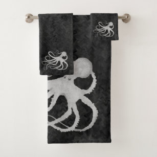 Octopus Bath Towels Zazzle