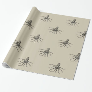 Octopus Paper, Sandy Wrapping Paper