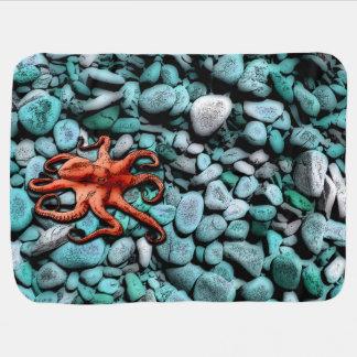 Octopus Pebbles Baby Blanket