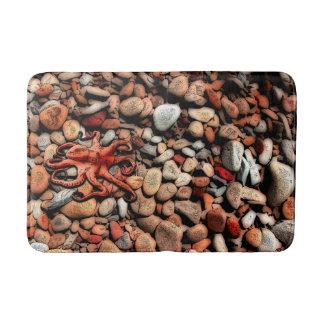 Octopus pebbles bathroom mat