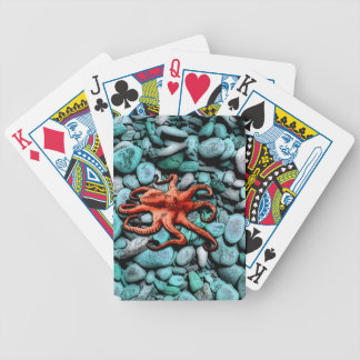 Octopus Pebbles Bicycle Playing Cards