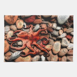 Octopus Pebbles Towel