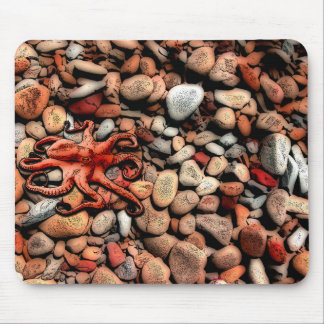 Octopus Pebbles Mouse Pad