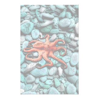 Octopus Pebbles Stationery