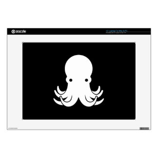 """Octopus Pictogram Latop Skin Decal For 15"""" Laptop"""