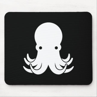 Octopus Pictogram Mousepad