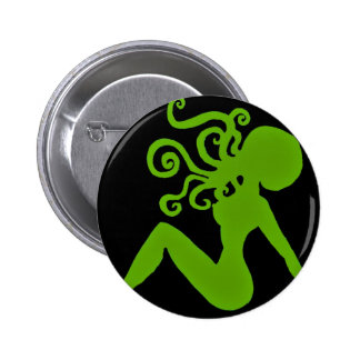 Octopus Pin-up Badge Pinback Button