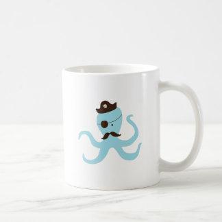 Octopus Pirate Coffee Mugs