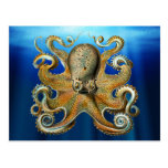 Octopus Postcards