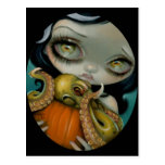 """""""Octopus Pumpkin"""" Postcard"""