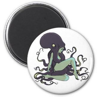 Octopus Queen Refrigerator Magnet