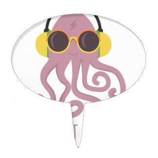 Octopus Quote Design Cake Topper