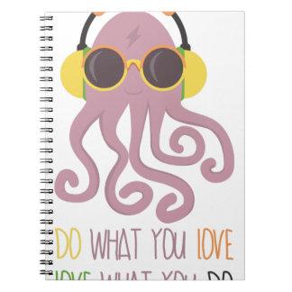 Octopus Quote Design Notebook
