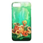 Octopus Reading iPhone 7 case