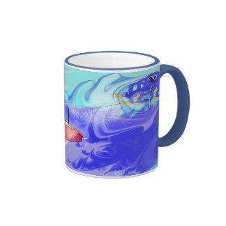 Octopus Ride Ringer Mug