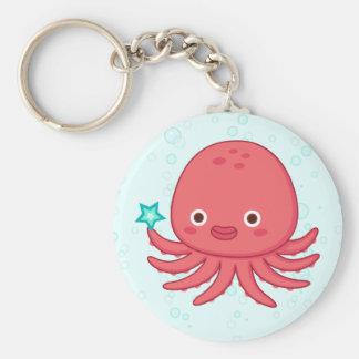 Octopus s Got Star Key Chain