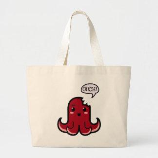 Octopus Sausage Bitten Jumbo Tote Bag