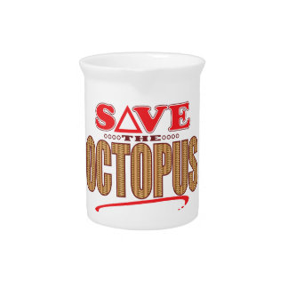 Octopus Save Drink Pitchers