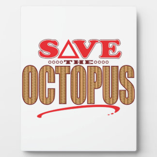 Octopus Save Plaque
