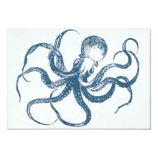 Octopus Save the Date Cards