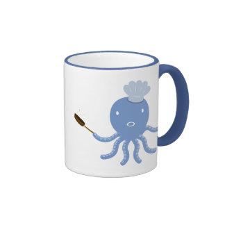 Octopus shef mug