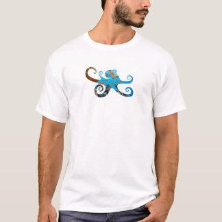 Octopus Silhouette Marine Life T-Shirt