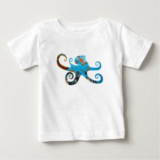 Octopus Silhouette Ocean Life Toddler's T-Shirt