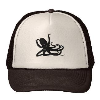 Octopus Sillouette MP3 Adverisement Spoof Trucker Hat