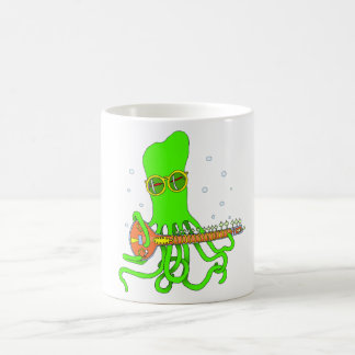 Octopus Sitar Coffee Mug
