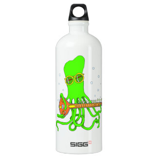 Octopus Sitar Water Bottle