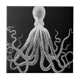 octopus sketch ceramic tile