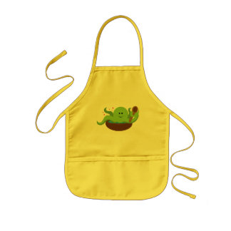 Octopus Soup Kids' Apron