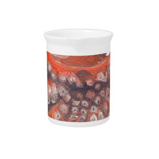 Octopus Squid Kraken Painting Drink Pitchers